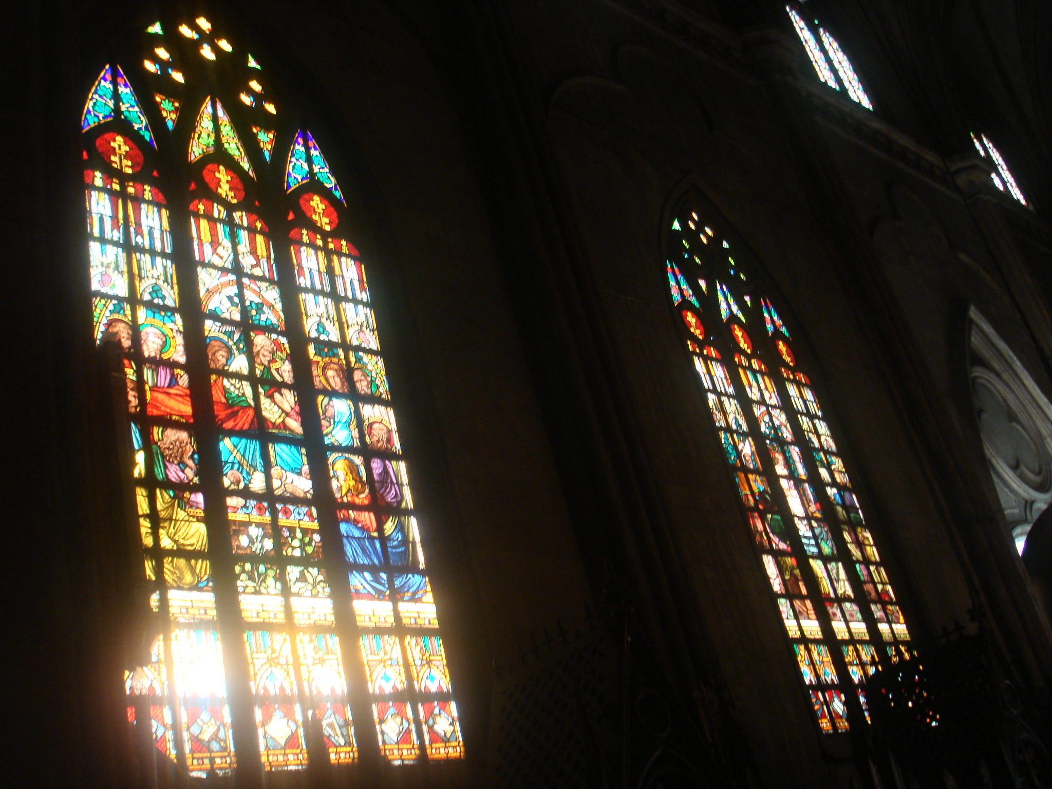 bible stories of stained glass windows essay You can now sit in the sanctuary at immanuel lutheran church in princeton and take in many stories of the bible by looking at windows around you.